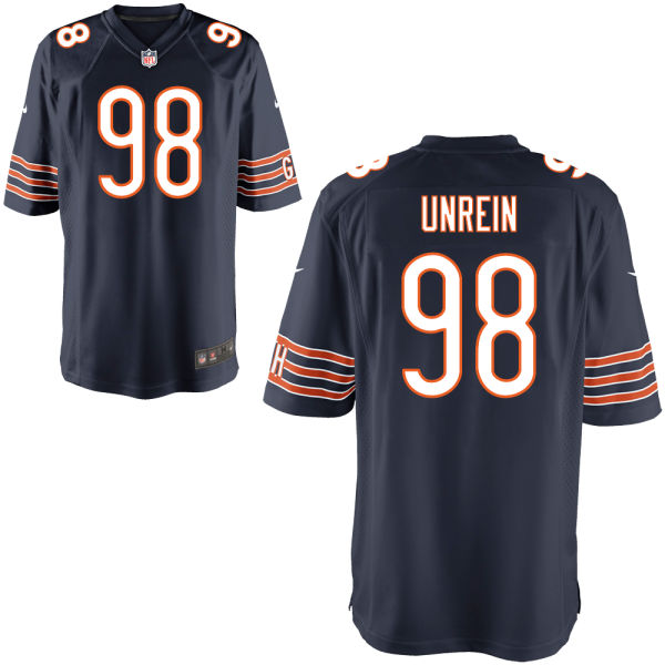 Mitch Unrein Nike Chicago Bears Game Navy Jersey