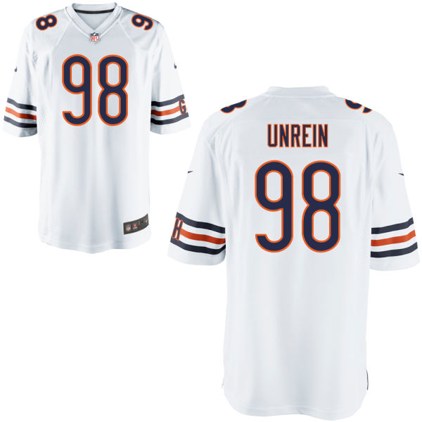 Mitch Unrein Youth Nike Chicago Bears Game White Jersey