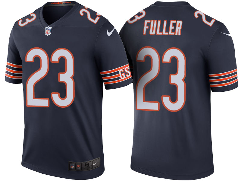 Kyle Fuller Chicago Bears Navy Color Rush Legend Jersey