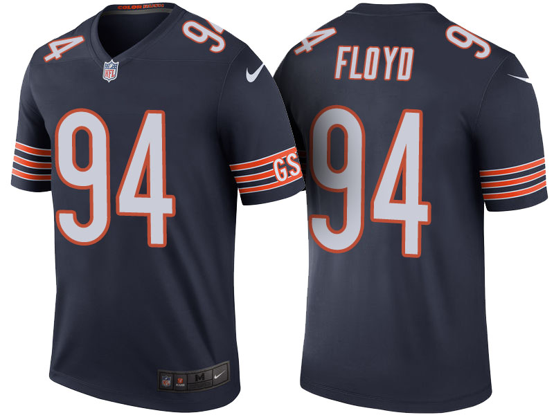 Leonard Floyd Chicago Bears Navy Color Rush Legend Jersey