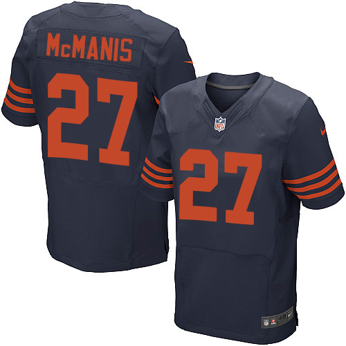 Sherrick McManis Nike Chicago Bears Elite Navy Blue 1940s Throwback Alternate Jersey
