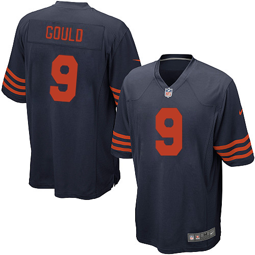 Robbie Gould Nike Chicago Bears Game Navy Blue 1940s Throwback Alternate Jersey