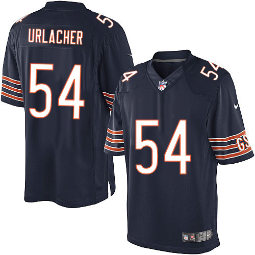 Brian Urlacher Nike Chicago Bears Limited Navy Blue Team Color Jersey