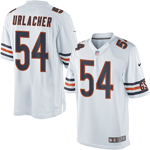 Brian Urlacher Nike Chicago Bears Limited White Jersey