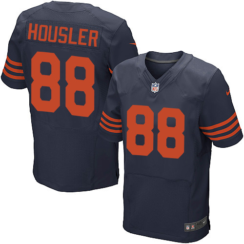 Rob Housler Nike Chicago Bears Elite Navy Blue 1940s Throwback Alternate Jersey
