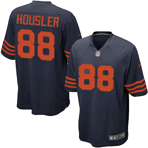 Rob Housler Nike Chicago Bears Game Navy Blue 1940s Throwback Alternate Jersey