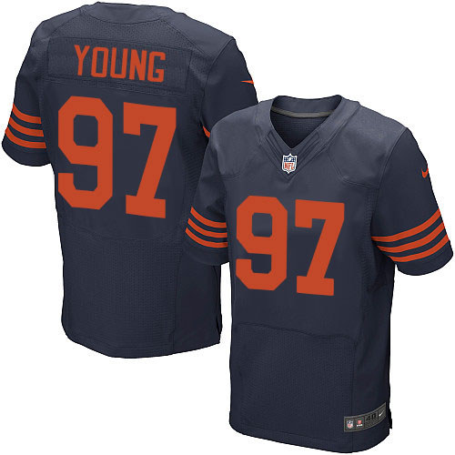 Willie Young Nike Chicago Bears Elite Navy Blue 1940s Throwback Alternate Jersey