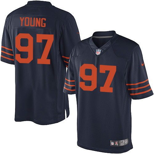 Willie Young Youth Nike Chicago Bears Elite Navy Blue 1940s Throwback Alternate Jersey