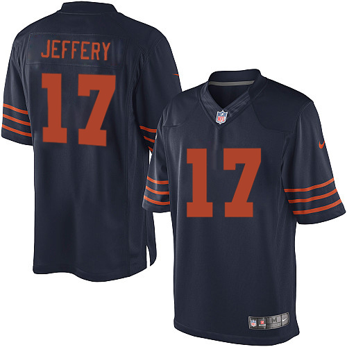 Alshon Jeffery Nike Chicago Bears Limited Navy Blue 1940s Throwback Alternate Jersey