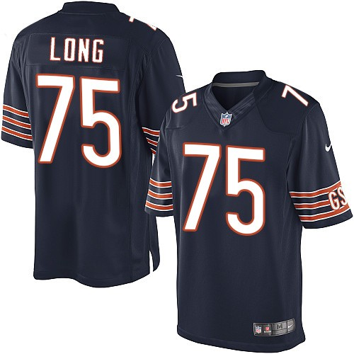 Kyle Long Nike Chicago Bears Limited Navy Blue Team Color Jersey