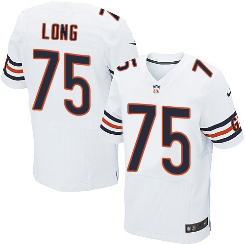 Kyle Long Nike Chicago Bears Elite White Jersey