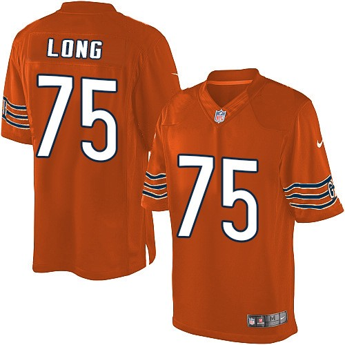 Kyle Long Nike Chicago Bears Limited Orange Alternate Jersey