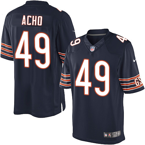 Sam Acho Nike Chicago Bears Limited Navy Blue Team Color Jersey