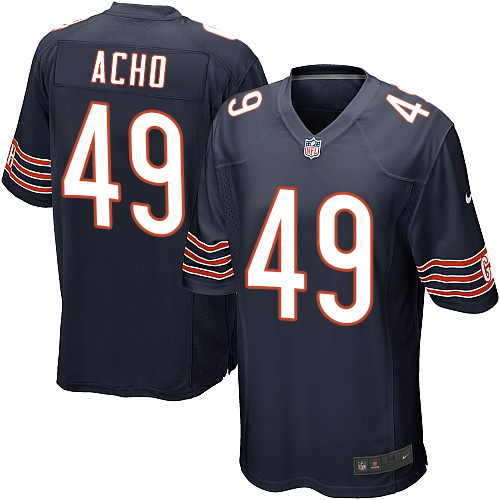 Sam Acho Nike Chicago Bears Game Navy Blue Team Color Jersey