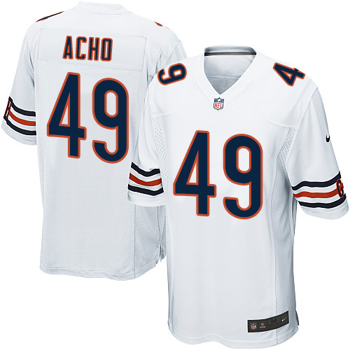 Sam Acho Nike Chicago Bears Game White Jersey