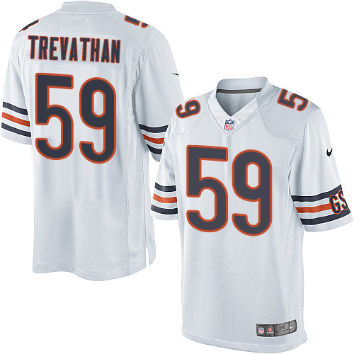 Danny Trevathan Nike Chicago Bears Limited White Jersey