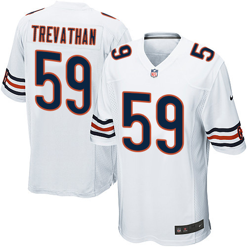 Danny Trevathan Nike Chicago Bears Game White Jersey