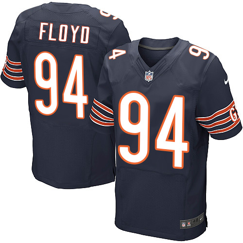 Leonard Floyd Nike Chicago Bears Elite Navy Blue Team Color Jersey