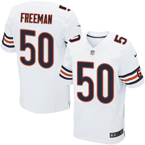 Jerrell Freeman Nike Chicago Bears Elite White Jersey