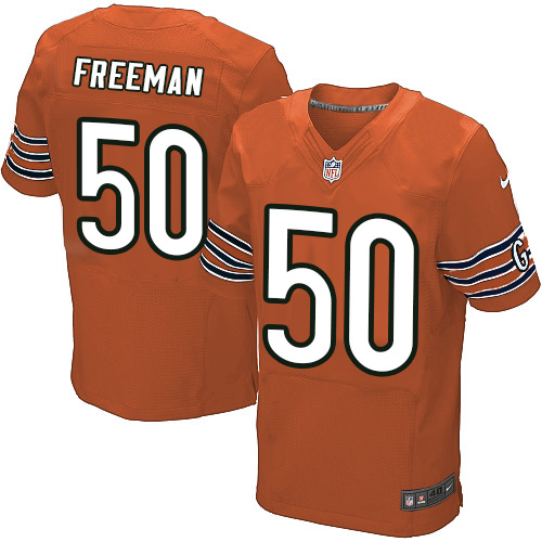 Jerrell Freeman Nike Chicago Bears Elite Orange Alternate Jersey