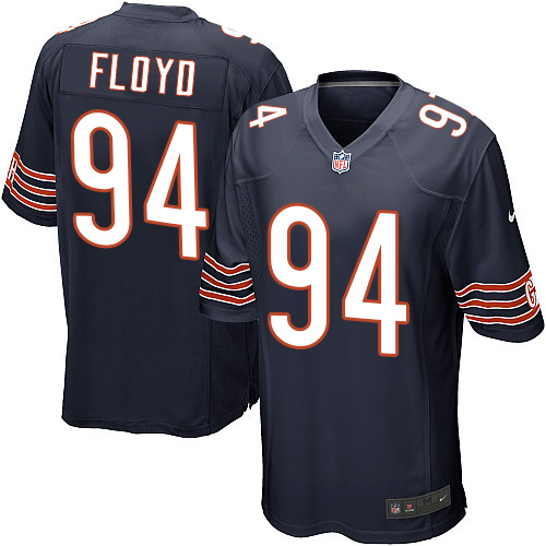 Leonard Floyd Nike Chicago Bears Game Navy Blue Team Color Jersey
