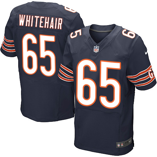 Cody Whitehair Nike Chicago Bears Elite Navy Blue Team Color Jersey