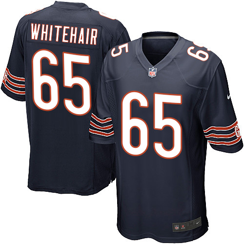 Cody Whitehair Nike Chicago Bears Game Navy Blue Team Color Jersey