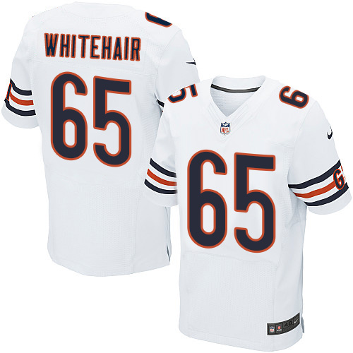 Cody Whitehair Nike Chicago Bears Elite White Jersey