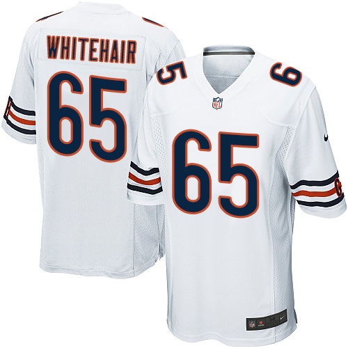 Cody Whitehair Nike Chicago Bears Game White Jersey
