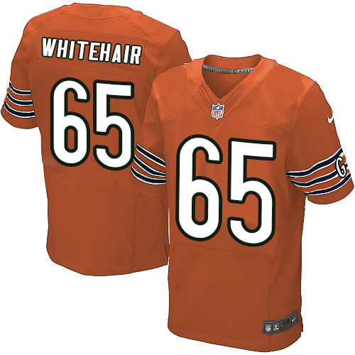 Cody Whitehair Nike Chicago Bears Elite Orange Alternate Jersey