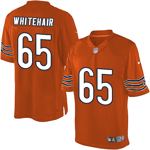 Cody Whitehair Nike Chicago Bears Limited Orange Alternate Jersey