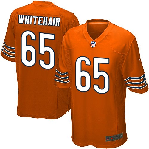 Cody Whitehair Nike Chicago Bears Game Orange Alternate Jersey