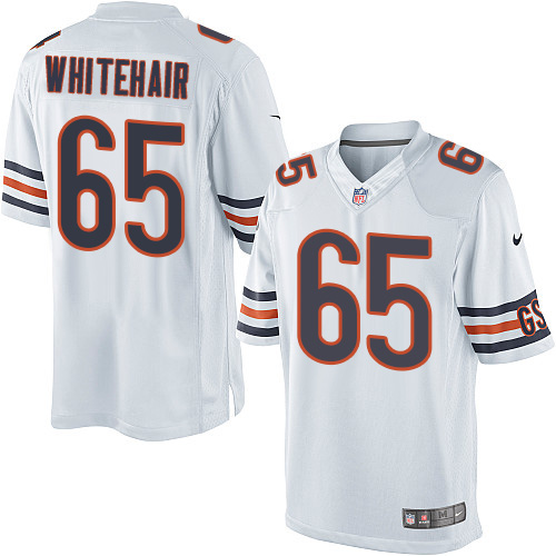 Cody Whitehair Youth Nike Chicago Bears Limited White Jersey