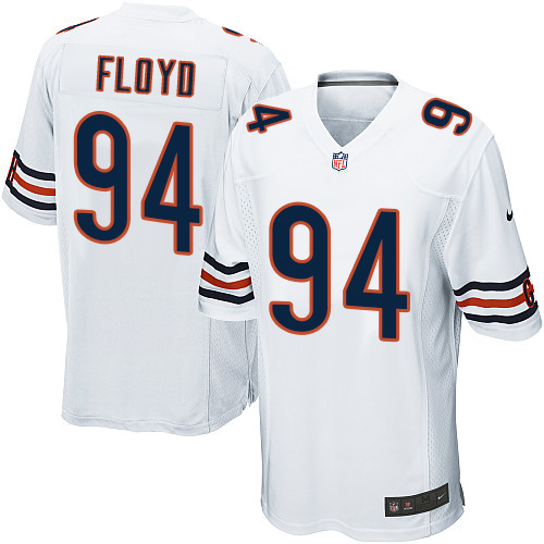 Leonard Floyd Nike Chicago Bears Game White Jersey