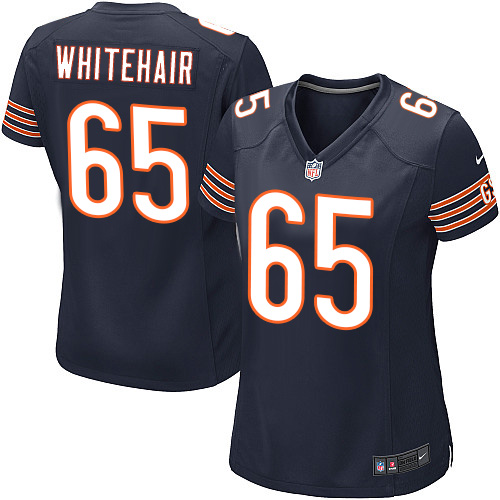 Cody Whitehair Women's Nike Chicago Bears Game Navy Blue Team Color Jersey