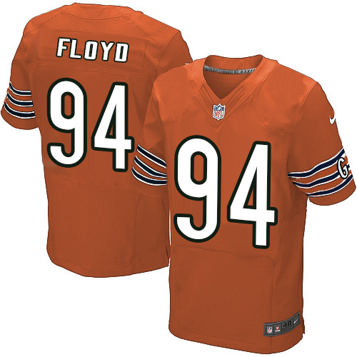 Leonard Floyd Nike Chicago Bears Elite Orange Alternate Jersey