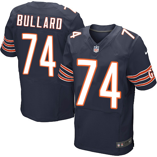 Jonathan Bullard Nike Chicago Bears Elite Navy Blue Team Color Jersey
