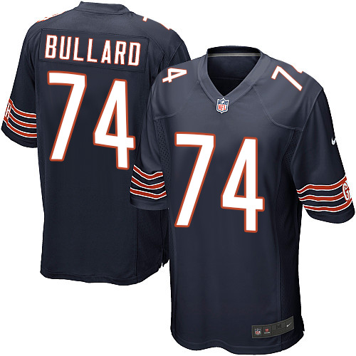 Jonathan Bullard Nike Chicago Bears Game Navy Blue Team Color Jersey