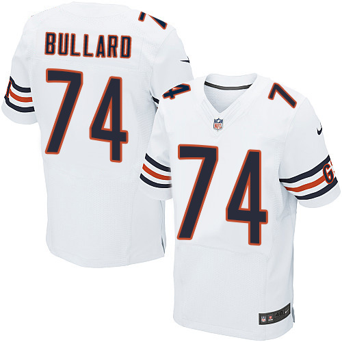 Jonathan Bullard Nike Chicago Bears Elite White Jersey