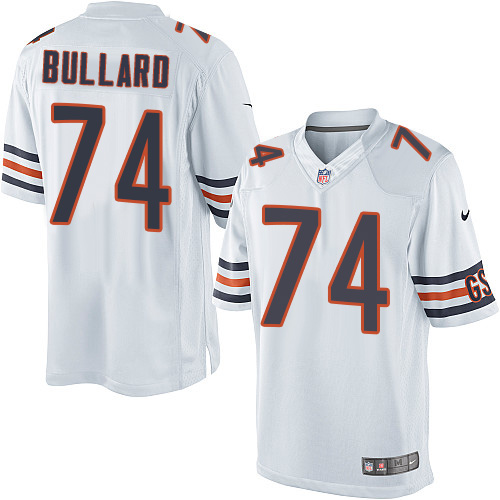 Jonathan Bullard Nike Chicago Bears Limited White Jersey