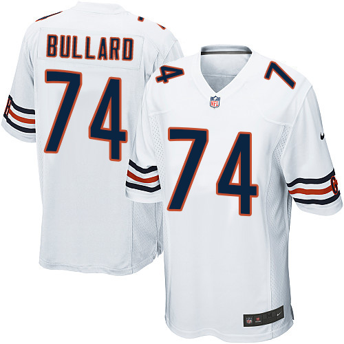 Jonathan Bullard Nike Chicago Bears Game White Jersey