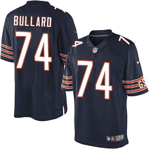 Jonathan Bullard Youth Nike Chicago Bears Elite Navy Blue Team Color Jersey