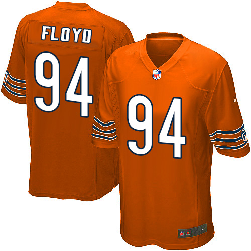 Leonard Floyd Nike Chicago Bears Game Orange Alternate Jersey