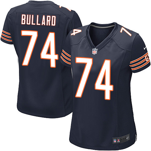 Jonathan Bullard Women's Nike Chicago Bears Game Navy Blue Team Color Jersey
