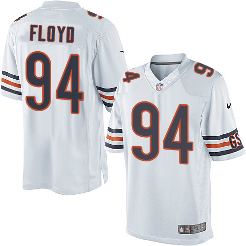 Leonard Floyd Youth Nike Chicago Bears Elite White Jersey