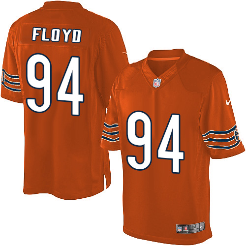 Leonard Floyd Youth Nike Chicago Bears Elite Orange Alternate Jersey