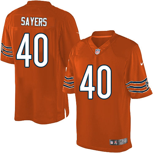 Gale Sayers Nike Chicago Bears Limited Orange Alternate Jersey