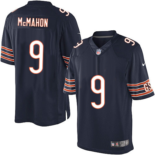 Jim McMahon Nike Chicago Bears Limited Navy Blue Team Color Jersey