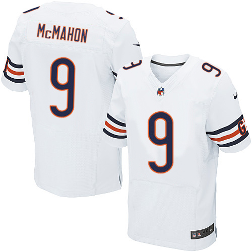 Jim McMahon Nike Chicago Bears Elite White Jersey