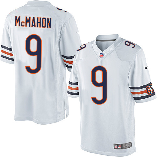 Jim McMahon Nike Chicago Bears Limited White Jersey